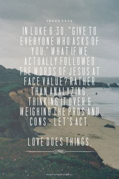 Luke 6:30