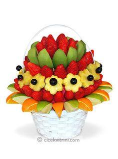 Sağlıklı Meyve Sepeti çiçek http://www.cicekvitrini.com/cicekler/ankara-cicek-gonder