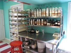 soap workshop Oh I NEED this set up for all my soap-making!! (only bigger!)