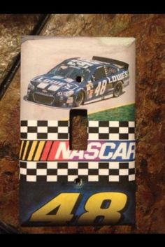 NASCAR Jimmie Johnson Racing Light Switch Cover #48 RaceCar Great Easter Gift Great Christmas Gifts, Great Gifts, Nascar Racers, Easter Gift, Light Switch Covers, Race Cars, Racing, Ebay, Sports