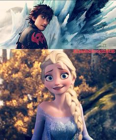 Heh heh . . . might have gotten a little carried away. Hiccup- A little?! Elsa- sorry