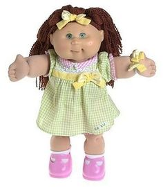 Cabbage Patch Dolls- remember how popular they were?