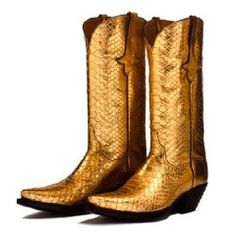 Gold Cowboy Boots for Women Cowgirl Style, Cowgirl Boots, Western Boots, Boot Scootin Boogie, Gold Boots, Cowboy Up, Dress With Boots, Sporty, Mens Fashion