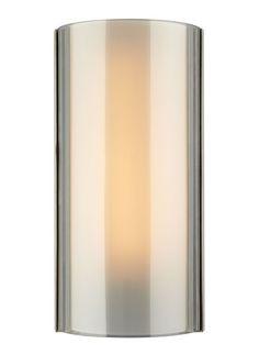 Tech Lighting 700WSJXNK-CF Jaxon 1 Light Fluorescent Smoke Glass Wall Sconce