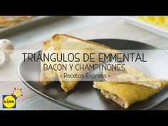 YouTube Canapes, Relleno, Queso, Hot Dog Buns, Food To Make, French Toast, Bread, Breakfast, Recipes