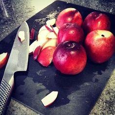 Summer is stone-fruit season.