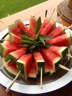 Watermelon on a stick More