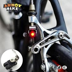 Buy Wheel Spokes Perfect Cycling Accessories Bicycle Travel Brake Light Led Light Led Cycling Bike Brake Light Mountain Bicycle Brake Light at Wish - Shopping Made Fun Bicycle Safety, Bicycle Brakes, Road Mountain Bike, Road Bike, Mini Bike, Bicycle Lights, Bike Light, Red Led Lights, Light Led