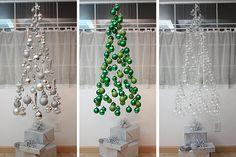 Arbre de Noël original : un sapin de Noël en mobile !