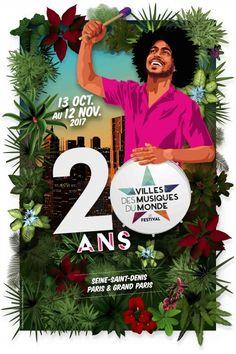 Festival Villes des Musiques du Monde 2017 - Paris La Courneuve (93)