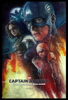 Captain America: The Winter Soldier- Paul Shipper   I admit it. I'm a gal who likes Superheroes, who grew up reading the comic books at the 7-11 and bought some to save. Alas they are gone (98%of them). We love watching the Stan Lee marvel comic movies and the others as well.