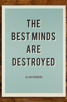 Unsung Heros - Allen Ginsberg