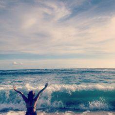 Live in the sunshine, swim in the sea, drink the wild air -Ralp Waldo Emerson-, Bali Indonesia