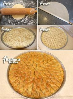 Best Easy Cake : Homemade Baklava Recipe, How To, Homemade Baklava Recipe, Kibbeh Recipe, Turkish Baklava, Tea Party Sandwiches, Greek Cooking, Pastry Art, Turkish Recipes, Food Cakes, Something Sweet