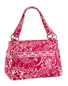 a really great vera bradley handbag - pockets for everything and washable!
