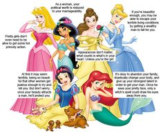 What Disney Princesses Teach Girls ... would be funny, if it weren't so sad - and true
