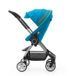 Urban Blue: Inspired by shades of arctic ice and the Northern Lights that float over our Scandinavian sky. #Stokke #Scoot