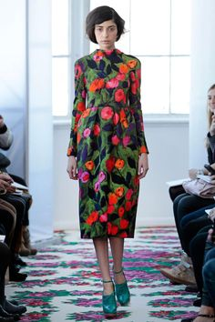 Delpozo Fall 2013 RTW Collection