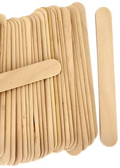Jumbo Craft Sticks -Natural