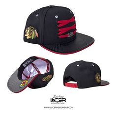 NEW RELEASE // Chicago Blackhawks 'Player' Black Snapback // Now Available Online