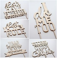 Oh So Pretty Cake Topper | Let love rule | Oh So Pretty Party | Dreamkey Design