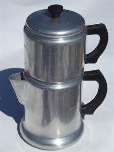 Vintage Aluminum Coffee Pots Aluminum Ware Pinterest