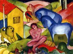 el sueño, Franz Marc