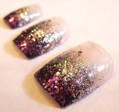 love these- birthday nails? new years eve nails?
