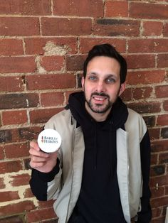 Dynamo, with his delicious Bake for Heroes cupcake!