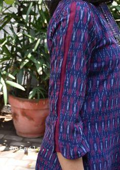 Kurti Sleeves Design, Sleeves Designs For Dresses, Dress Neck Designs, Bridal Blouse Designs, New Kurti Designs, Salwar Designs, Kurta Designs Women, Stylish Dress Designs, Stylish Dresses