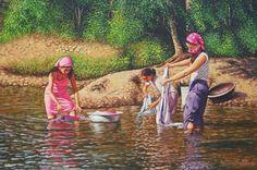 Pintores dominicanos y sus obras - Lavanderas- Vinicio Castillo | Dominican Republic Plastic Arts, Artists | Pinterest | Search www.pinterest.com736 × 488Buscar por imagen