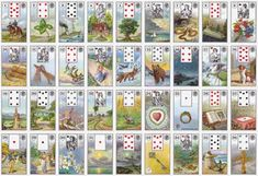 Published in 1986 by the Viennese playing card factory Ferd, Platnik & Sohne