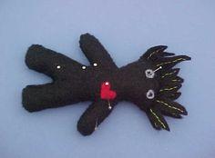 Voodoo Doll Pincushion