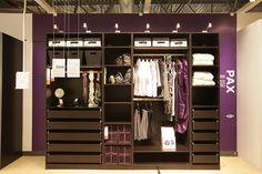 ikea closet | New IKEA Ottawa - Closet Display | Flickr - Photo Sharing!