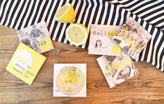 DIY: Selbstgemachte #Getränkeuntersetzer aus #Fliesen und Fliesenfolien   #Fliesenupcycling #Zitronen #Bierdeckel mal anders!