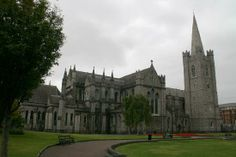 """Saint Patrick's Cathedral - Friday activity 4/6 - Jonathan Swift of """"Gulliver's Travels"""" is buried here"""