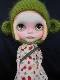 Custom Blythe Doll Simply Mango
