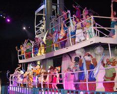 Boat of Characters- Fantasmic!