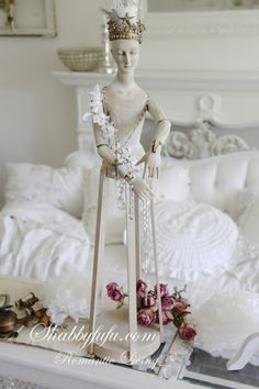 Sainte Blanche...French Style Santos Cage Doll