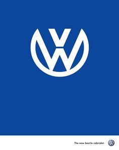 VOLKSWAGEN, anuncio del nuevo escarabajo descapotable.