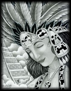 Beautiful Aztec Princess