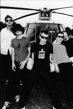 """This is Radiohead, a band I've gotten into in recent months. I used to be a hater of their music, but now I wonder why I even disliked it in the first place. My favorite album by them is The Bends. I've listened to OK Computer too, it comes very close. But, Bends has """"Street Spirit"""" on it."""