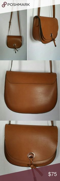 Zara Crossbody NWT Camel crossbody with one deep pocket, adjustable strap, and snap closure by Zara. Zara Bags Crossbody Bags