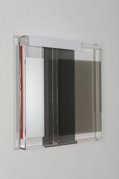 Maria Dukers Plexiglass Works. Made from plexiglass and PVC tape.
