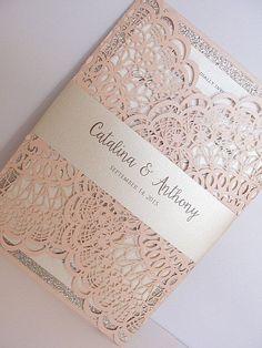 glitter wedding invitations best photos - wedding invitations - cuteweddingideas.com