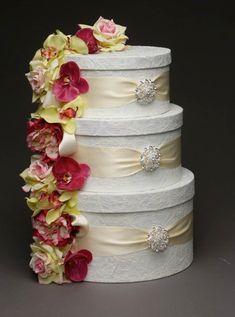 Wedding Cardbox Lace Wedding Card Box with by ElegantSparkleBoutiq