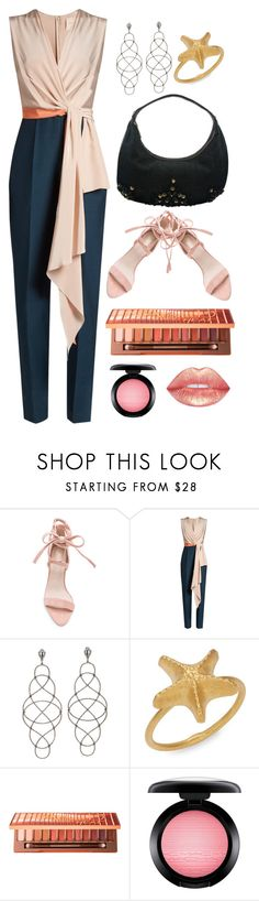 """""""Jumpsuit for Work"""" by josehline ❤ liked on Polyvore featuring Roksanda, Valentino, Urban Decay and MAC Cosmetics"""