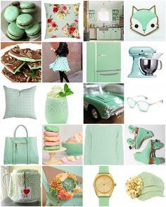 Menta Coral, Polyvore, Colors, Design, Mint, Style, Colour, Color