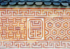 Line, Pattern, Rhythm Korean Traditional, Traditional House, Traditional Design, Cool Patterns, Textures Patterns, Print Patterns, Korean Crafts, Korean Painting, Asian Architecture
