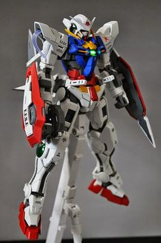 "MG 1/100 Gundam Exia ""Amuro Ray Private Suit"" Painted Build - Gundam Kits Collection News and Reviews"